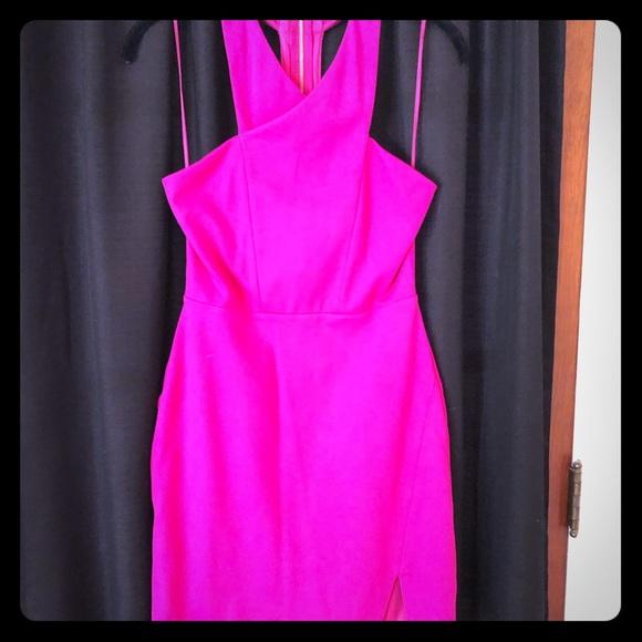 Express Dresses & Skirts - Magenta Express Dress